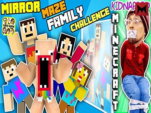 Kidnapped in Minecraft, Fgteev Mirror Maze Family Challenge, Save Duddy!