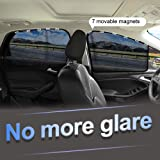 aokway Car Window Shade, Side Window Sunshades Car Sun Shade for Baby Suction Magnetic 4 pcs
