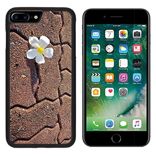 msd-premium-apple-iphone-7-plus-aluminum-backplate-bumper-snap-case-a-white-fresh-frangipani-on-side