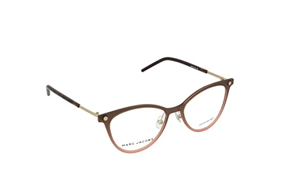 81b8d8799bdd Image Unavailable. Image not available for. Color  MARC JACOBS Eyeglasses  MARC 32 0FRJ Brown ...