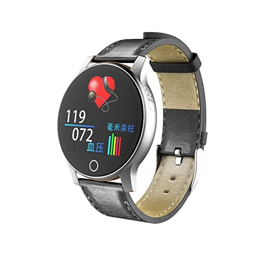 JIJI886 Smartwatch con Bluetooth, reloj para exteriores, PPG ...