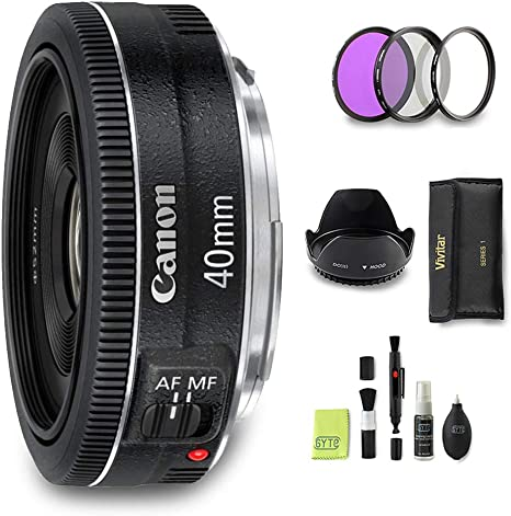 GYTE Bundle | Objetivo Canon - EF 40mm f/2.8 STM: Amazon.es ...