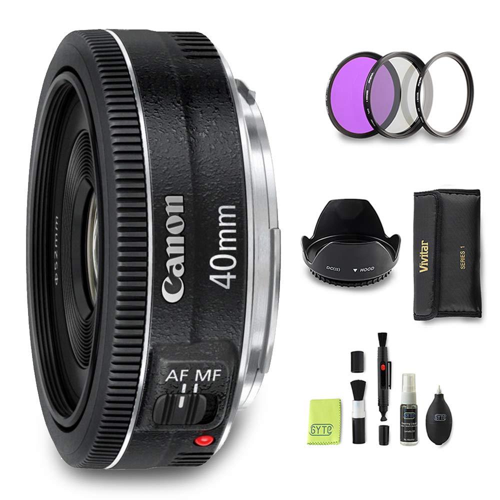 GYTE Bundle | Objetivo Canon - EF 40mm f/2.8 STM: Amazon.es ...