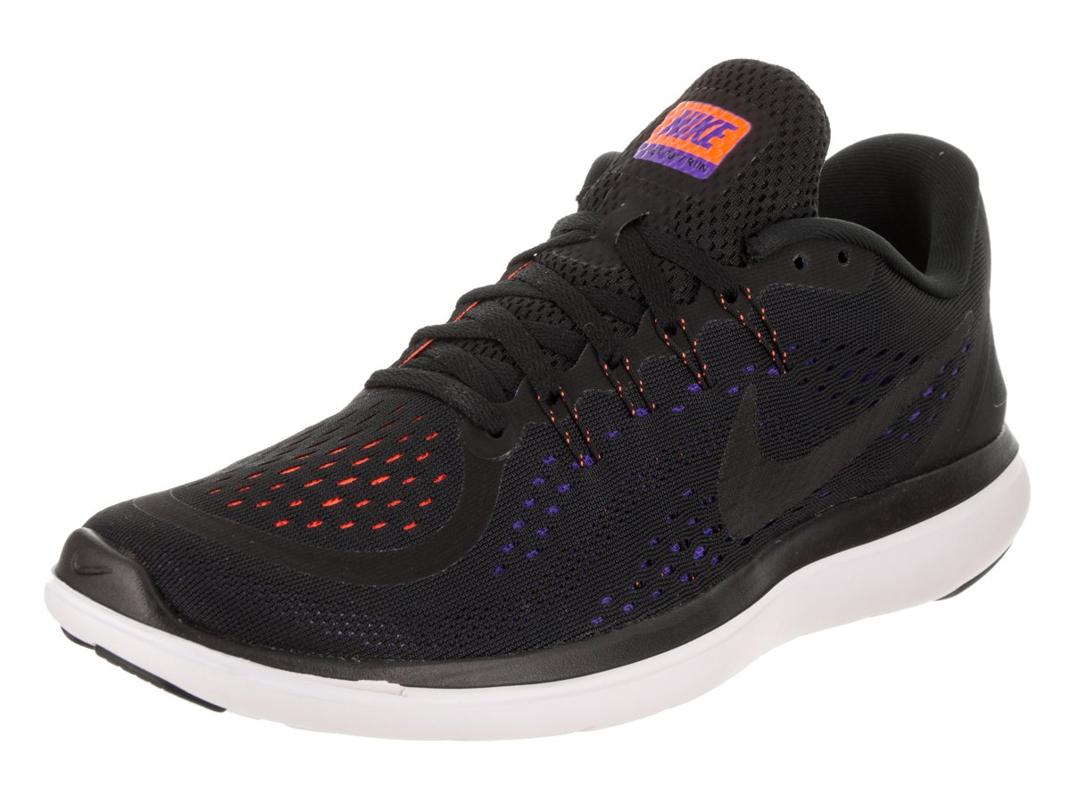 NIKE Flex 2017 RN B06VV42W21 6 D(M) US|Black/Black-persian Violet-total Orange