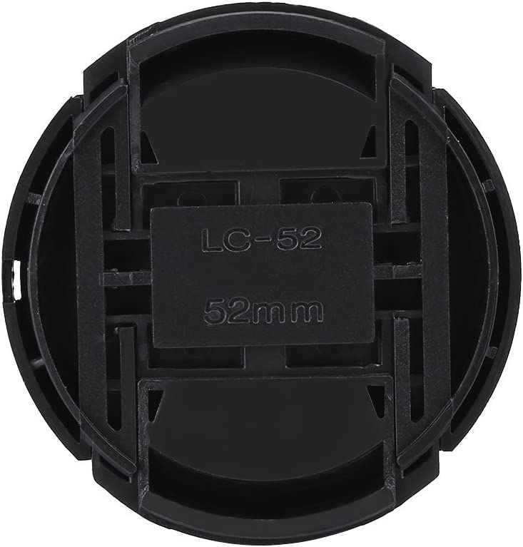 Canon Black Metal Lens Hood with Plastic Lenses Cap for Leica Lens Hood with Cap Kit Nikon SONY Pentax Lens Caliber 52mm // 2.0inch