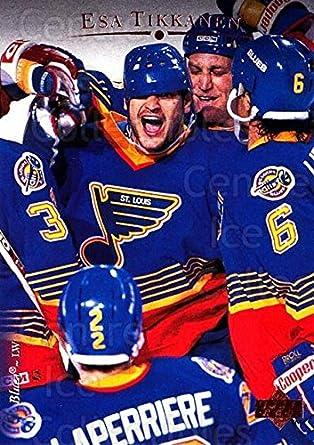 266cf7ab7 Amazon.com  (CI) Esa Tikkanen Hockey Card 1995-96 Upper Deck (base ...