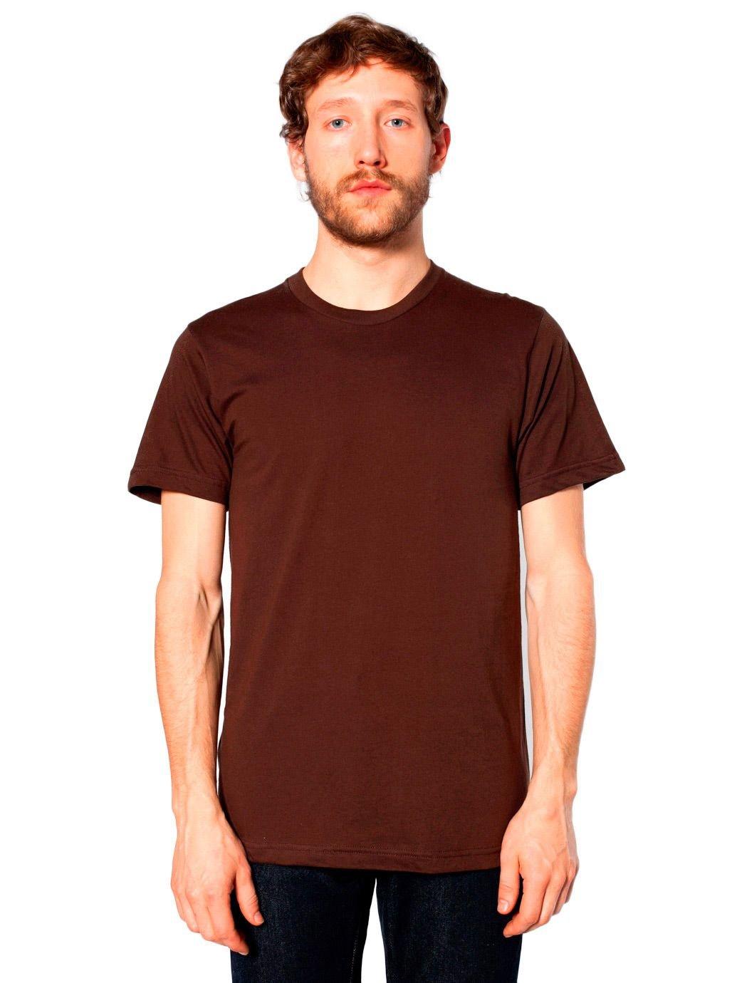 American Apparel Men's Unisex Fine Jersey Short Sleeve T-Shirt American Apparel Mens 2001
