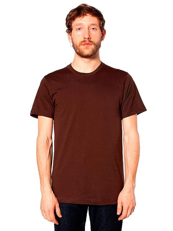 4ce5b491c Amazon.com: American Apparel Men's Unisex Fine Jersey Short-Sleeve T-Shirt:  Clothing