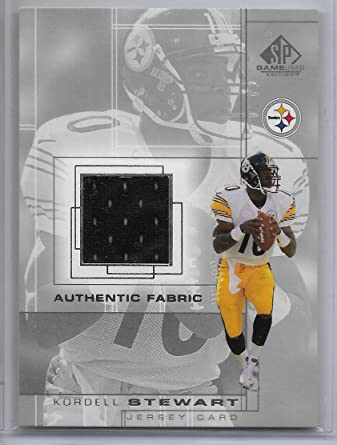 Amazon.com: 2001 UD SP Game Used Edition Football Kordell Stewart ...