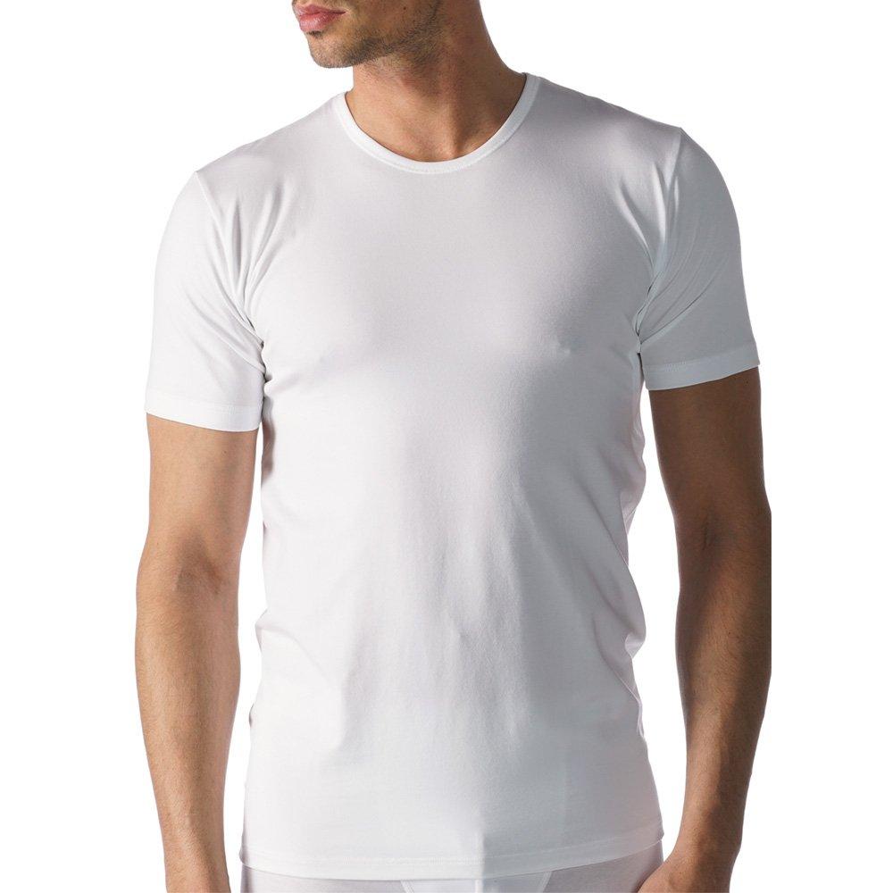 Weiß Mey 2er Pack Herren Business-Unterhemden - Dry Cotton Functional - 46082 - Weißszlig;, Skin - Größe 4 bis 8 - Shirt mit Komfortschnitt - Coolmax