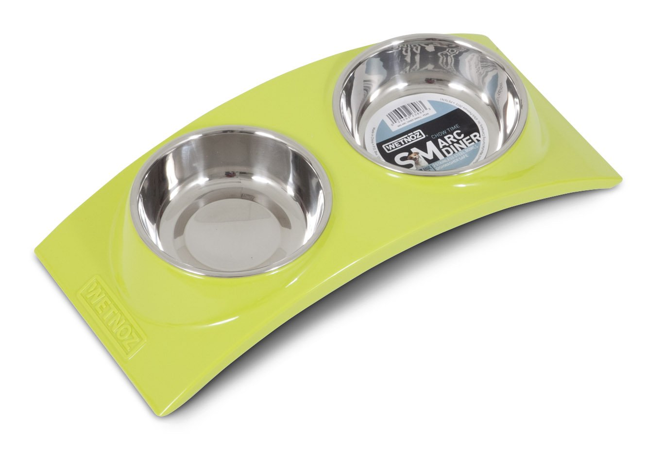 Wetnoz 23896 Arc Diner for Pets, Small, Pear by Petmate