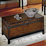 Steve Silver Company Voyage Trunk Style Cocktail Table