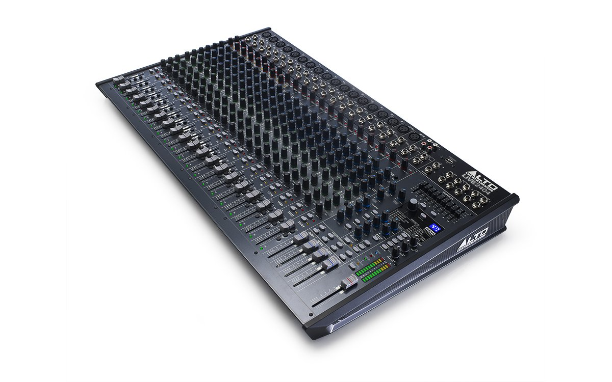 Alto Professional Live 2404   24-Channel / 4-Bus Mixer with 18 XLR Inputs