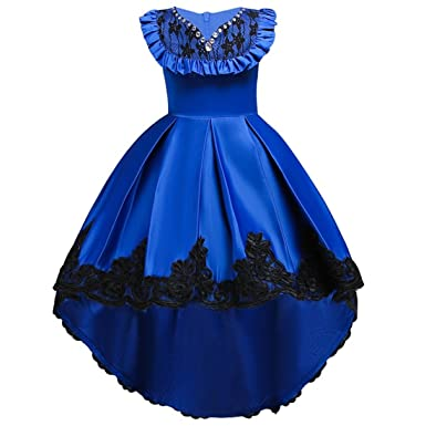 Prom Dress for Girls 4x Sleeveless 3-4T Length Pageant Dresses for Girls Size 4
