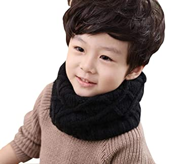 Boy's Accessories New Winter Warm Boys Girls Collar Baby Scarf Children Stars O Ring Neck Scarves Kids Scarf Warm And Windproof