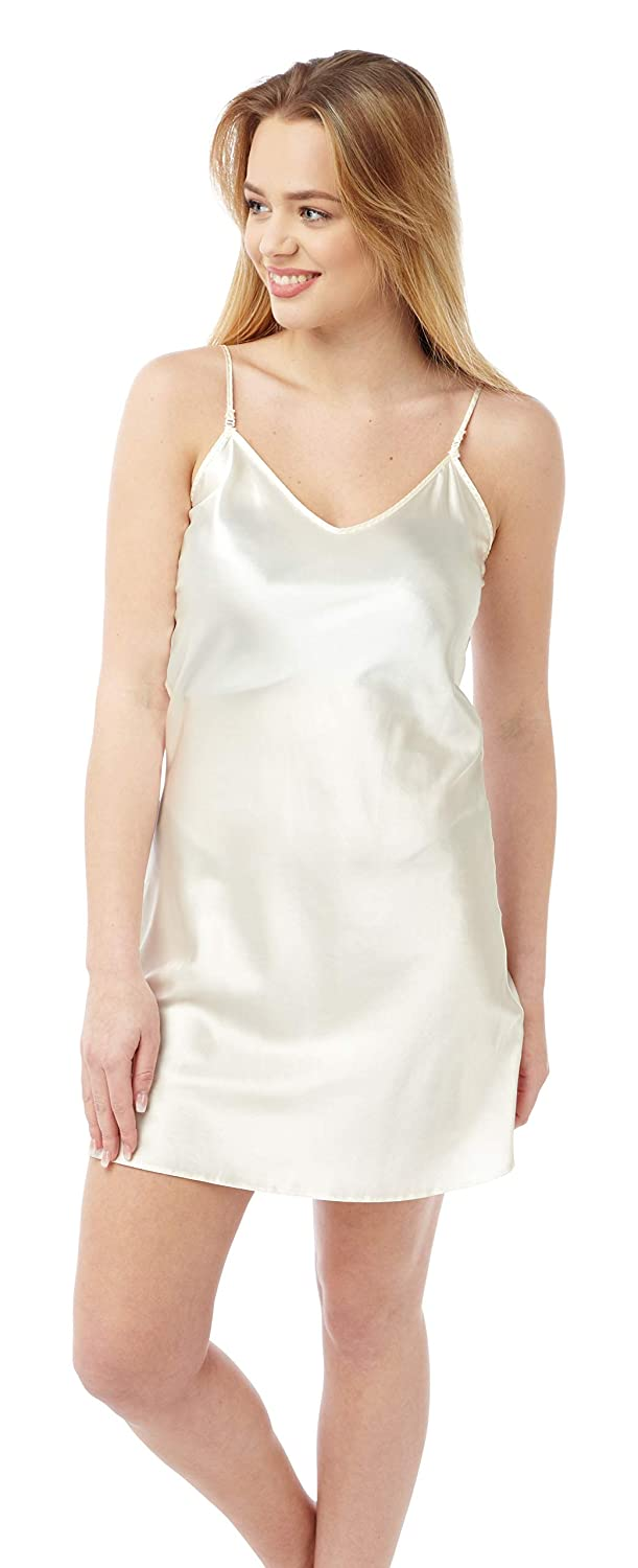 BHS Ladies Reversible Mid Thigh Satin Chemise