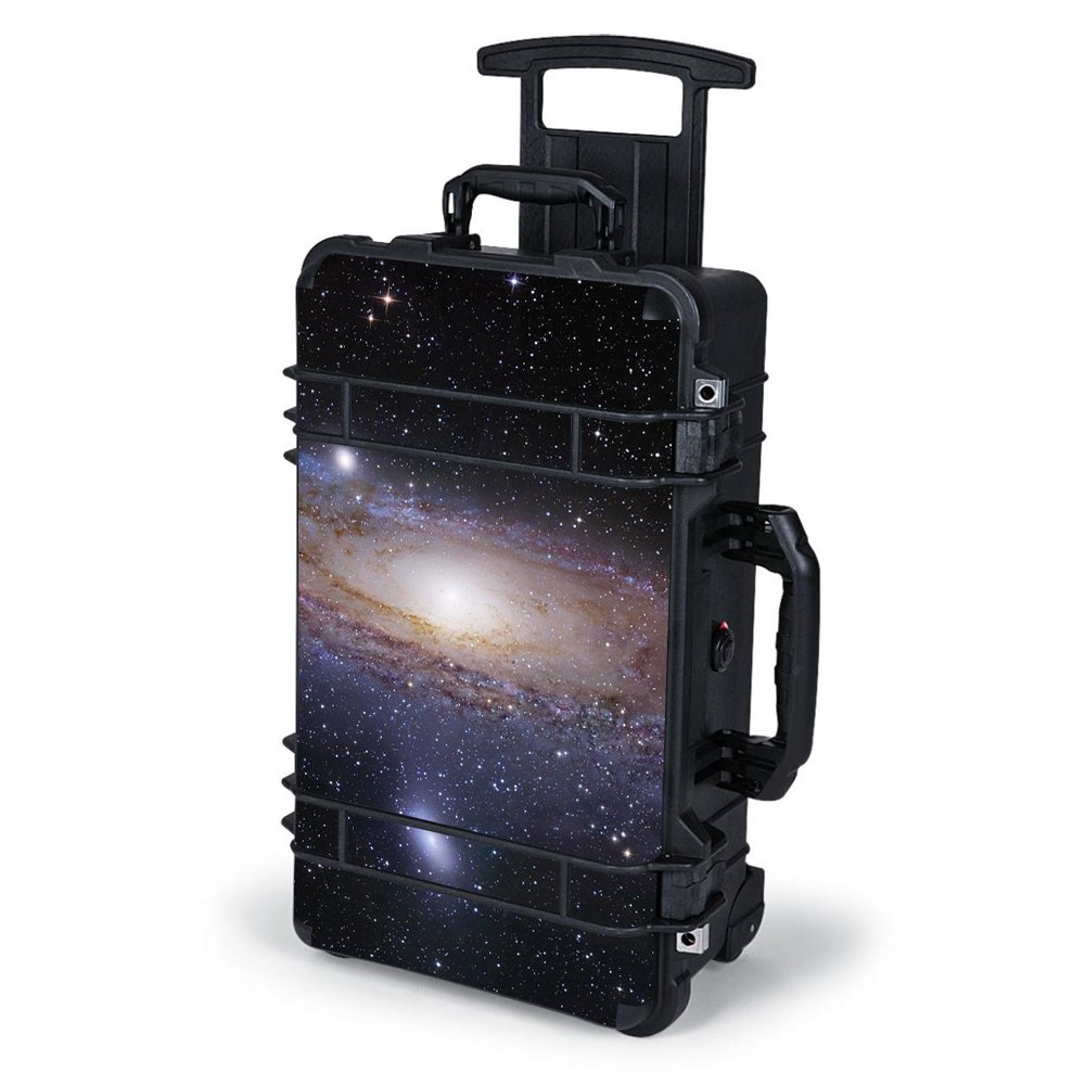 Skin Decal Vinyl Wrap for Pelican Case 1510 Skins Stickers Cover / solar system milky way