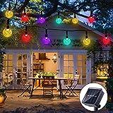 Solar String Lights Garden 50 LED 24Ft Outdoor