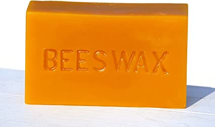 1lb Raw Yellow Beeswax Great for Many Uses! Unbleached