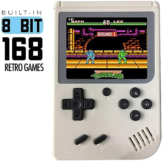 Retro Portátil Mini Consola de Videojuegos portátil Gameboy ...