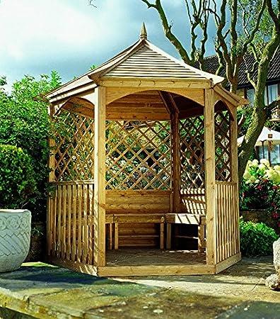 Jardín Verde - Quiosco Hexagonal