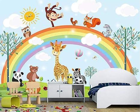 Fondo de pantalla Habitación infantil Fondo Mural Animal de ...