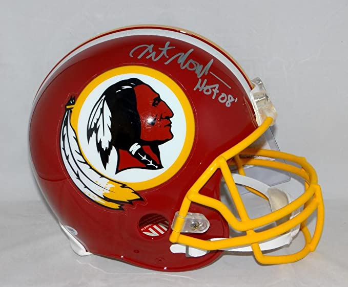 34d867422ab Amazon.com  Art Monk Signed Washington Redskins F S Proline Helmet- PSA DNA  Authenticated  Sports Collectibles