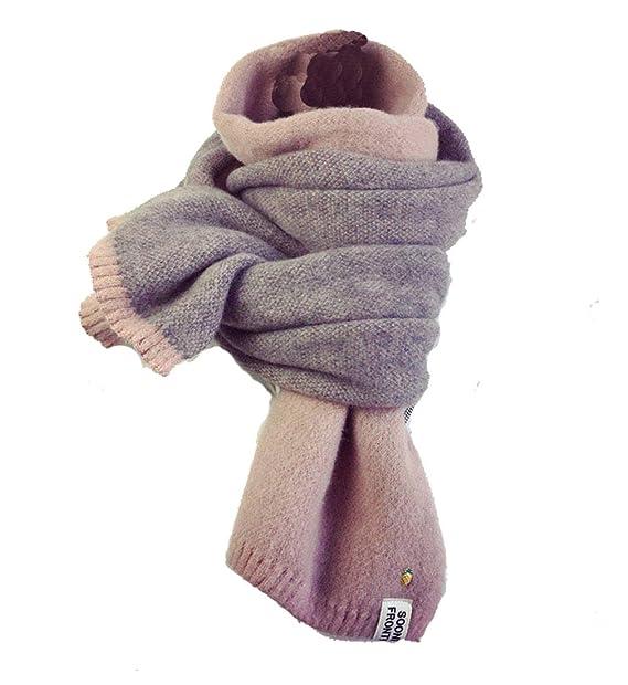 YJZQ Femme écharpe en laine écharpe cachemire artificielle Foulard à Tricot  Écharpe hiver contre froid Foulard Long décore ananas écharpe élastique  chaud  ... 78a08021ef8