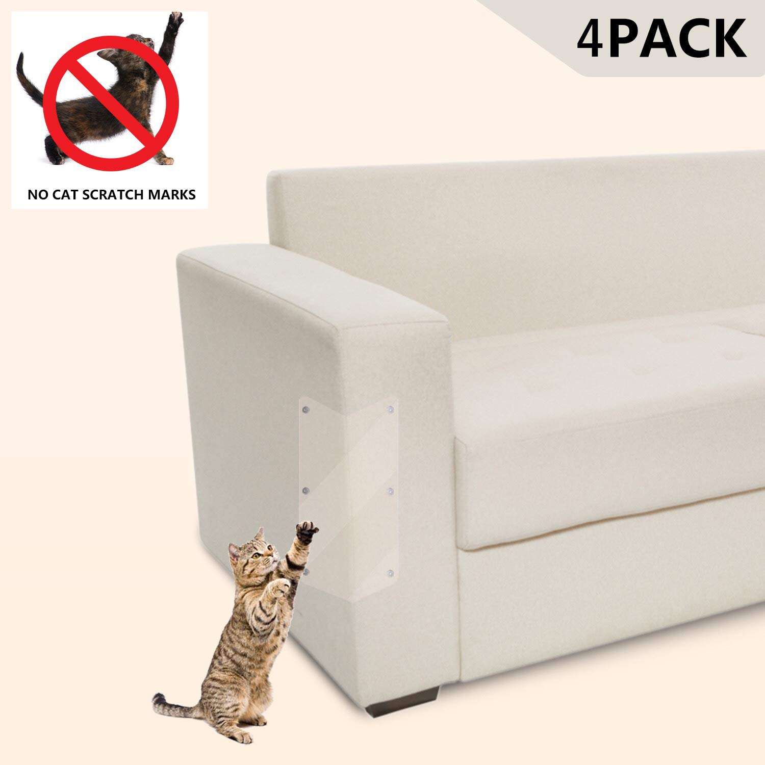 Amazon Com Large Furniture Protectors From Cats Cat Scratch Pad