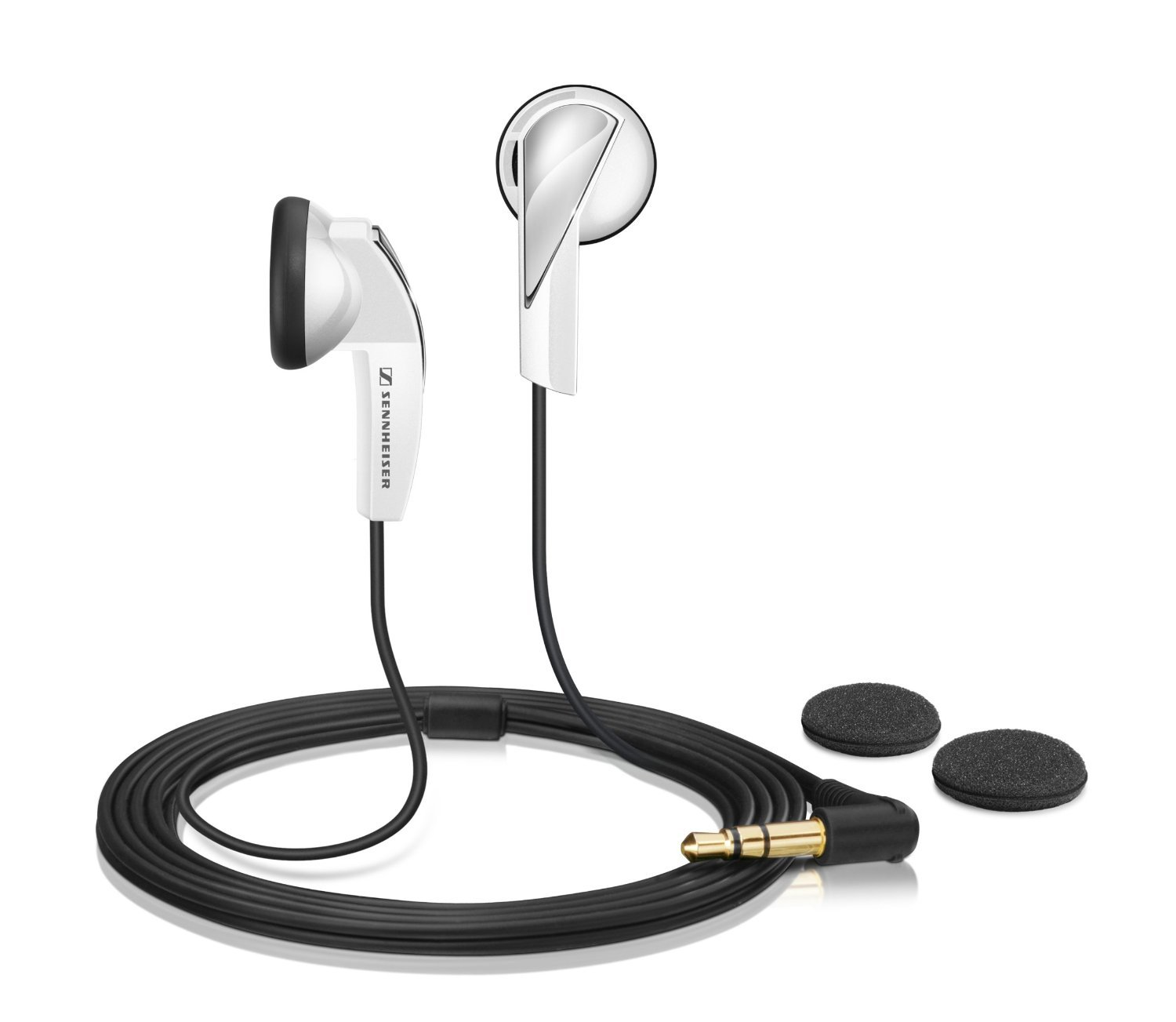 Sennheiser MX 365 Earphones – White Discontinued by Manufacturer