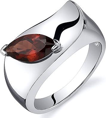 Garnet Red MarquiseShape