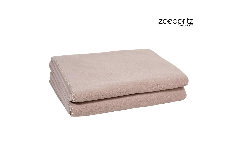 Soft Fleece Faserndecke Größe 160 x 200 cm, Farbe 825 - light wood