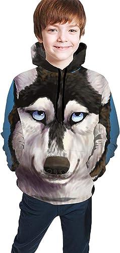 Cool Alaska Dog Pullover Hoodie Sudadera con Capucha para niñas ...