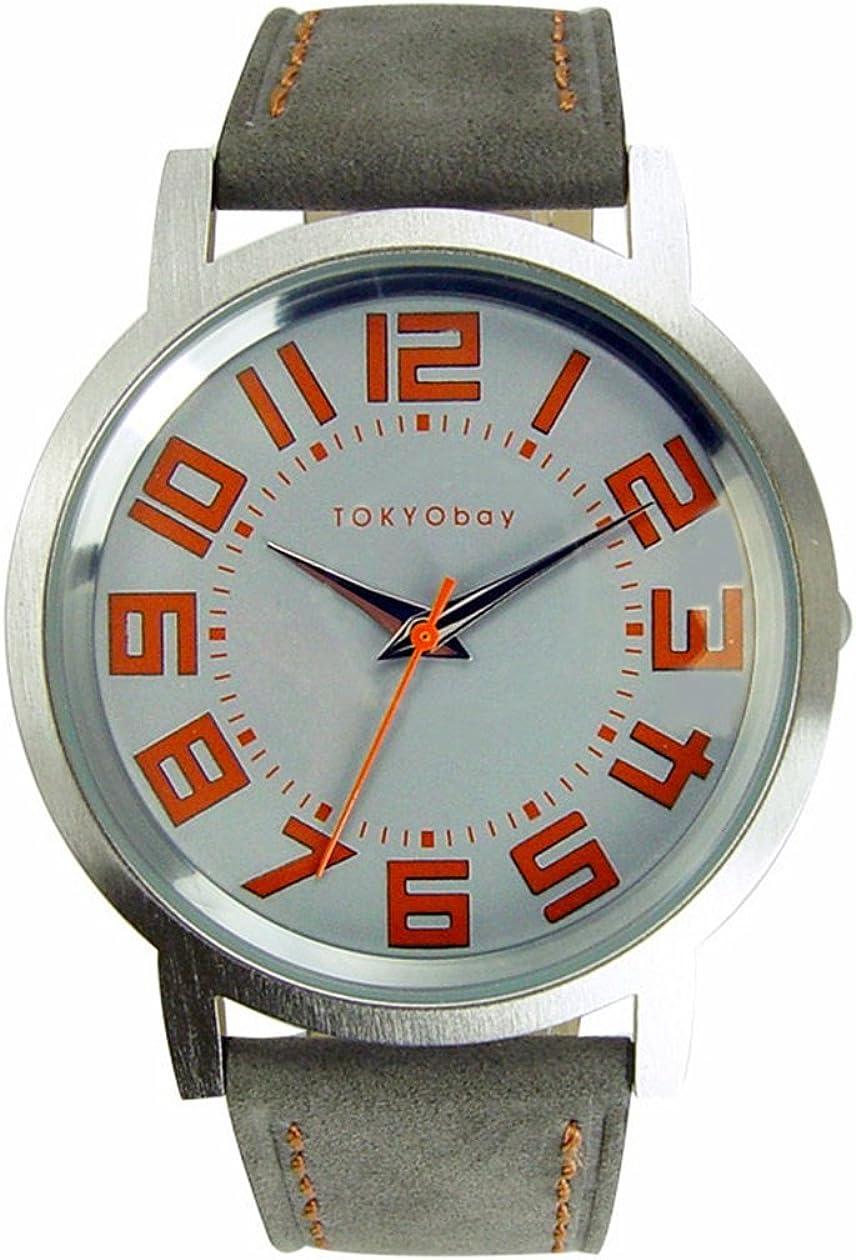 TOKYOBAY Track Watch Grey