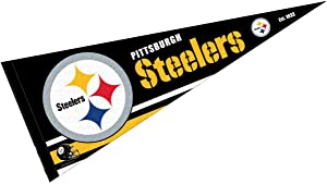 WinCraft Pittsburgh Steelers Pennant Banner Flag