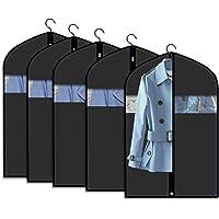 110 x 60 cm trajes para vestidos trajes trajes etc Legona/® 2 fundas de ropa resistentes con bolsa para zapatos de nailon viajes para negocios trajes Transpirables duradera