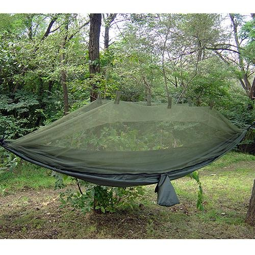 Snugpak Jungle Hammock with Mosquito Net, Olive (Clark Jungle Hammock)