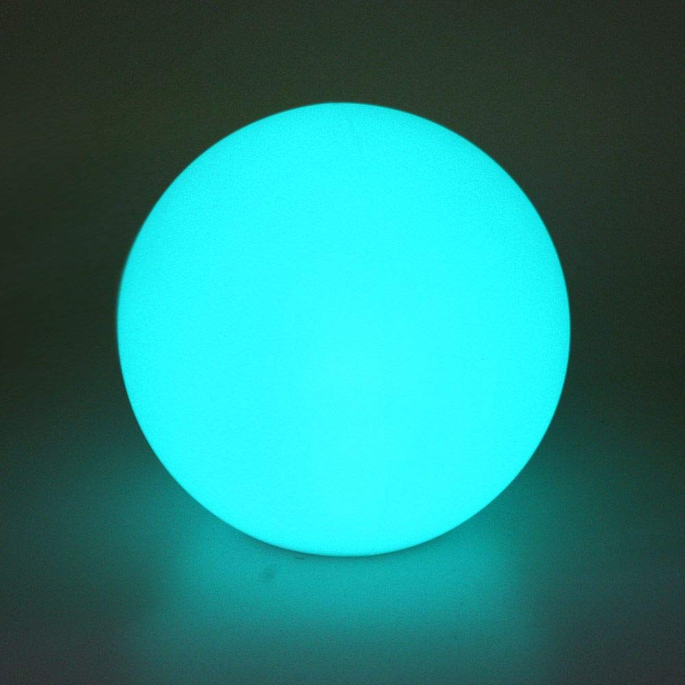 Airsee LED Ball Light, 8-inch 16 Colors Mood Lamp with Remote Control, IP65 Waterproof Floating Pool Lights, Upgraded Battery Capacity & UL Listed Adapter, Perfect for Home Decor