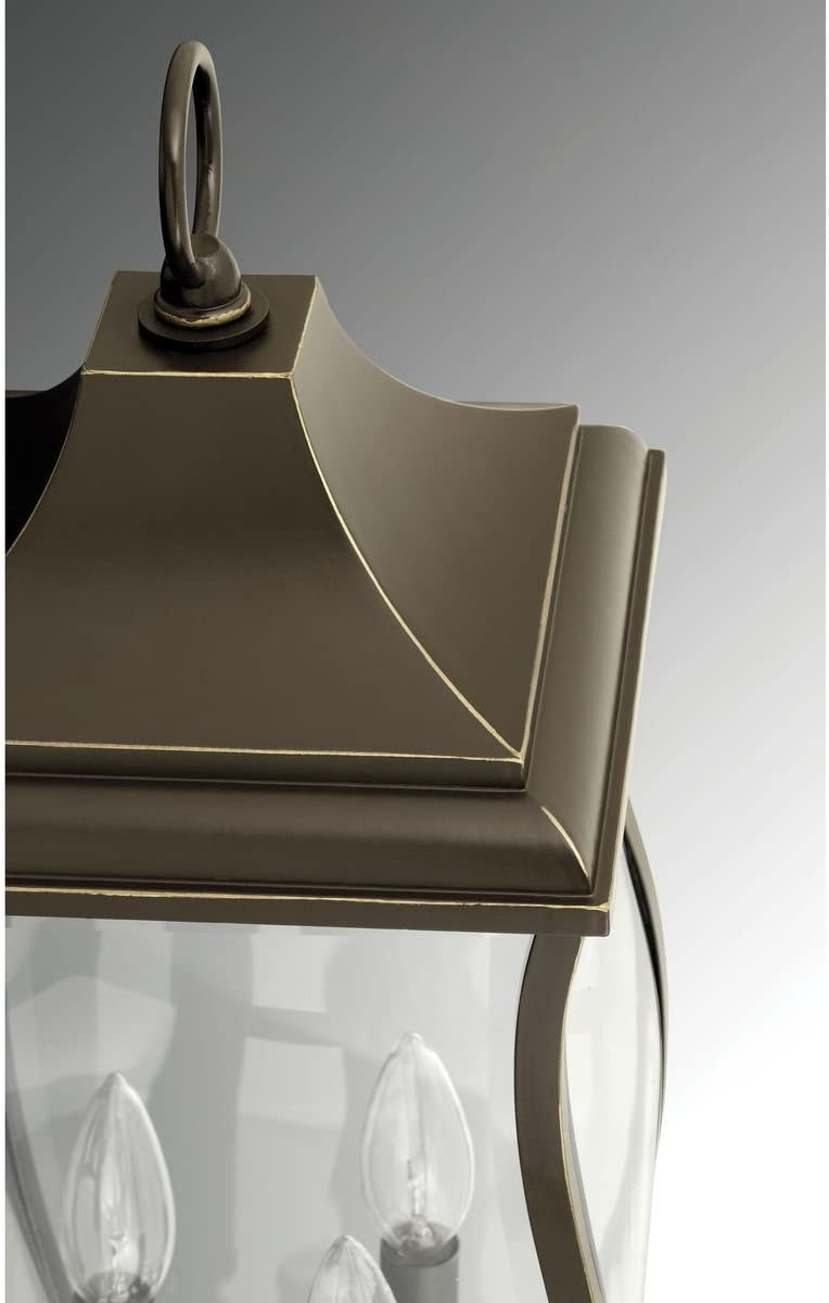 Progress Lighting P6432-108 Traditional//Classic 2-60W Cand Post Lantern Oil Rubbed Bronze HI Progress Lighting