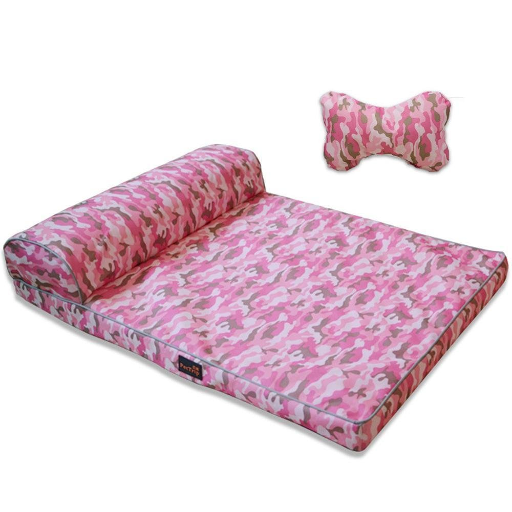 Kennel Pads Dog Beds Pet Bed for Dog Litter Cushion Washable pet Sleeping Mat 80x60x5cm Cat Bed Pet Supplies Cover