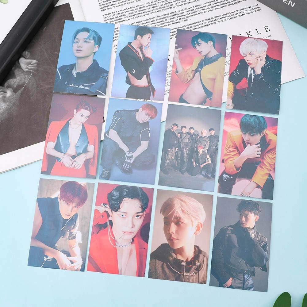 Fat Bear 32 pcs//Ensemble EXO 6e Obsession S/électionn/é photocard K-Pop Marchandises Carte Photo