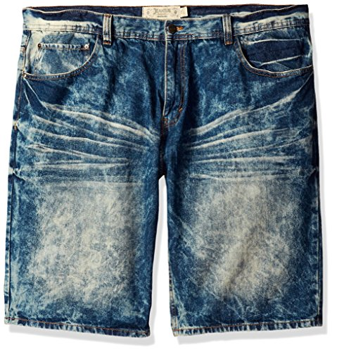 Akademiks Mens Denim Short (Various Colors and Sizes Including Big and Tall)
