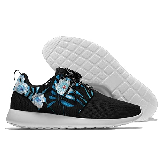 Flowers Floral Pattern Men's Mesh Running Shoes Sneakers Lightweight Athletic Workout Fitness Sports Shoes Trainers