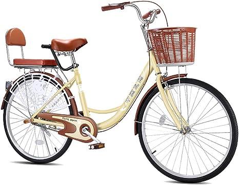 Bicicletas para mujeres adultas simples, alta dureza y acero al ...