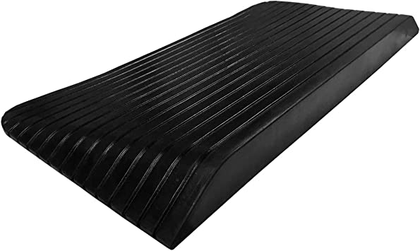 Small Rubber Threshold Ramp for Mobility Scooter Power Chair and Wheelchair