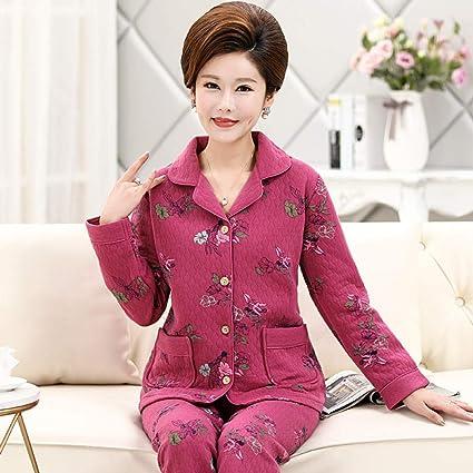 B/H Bata de Felpa de Talla Grande para Mujer,Pijamas de ...