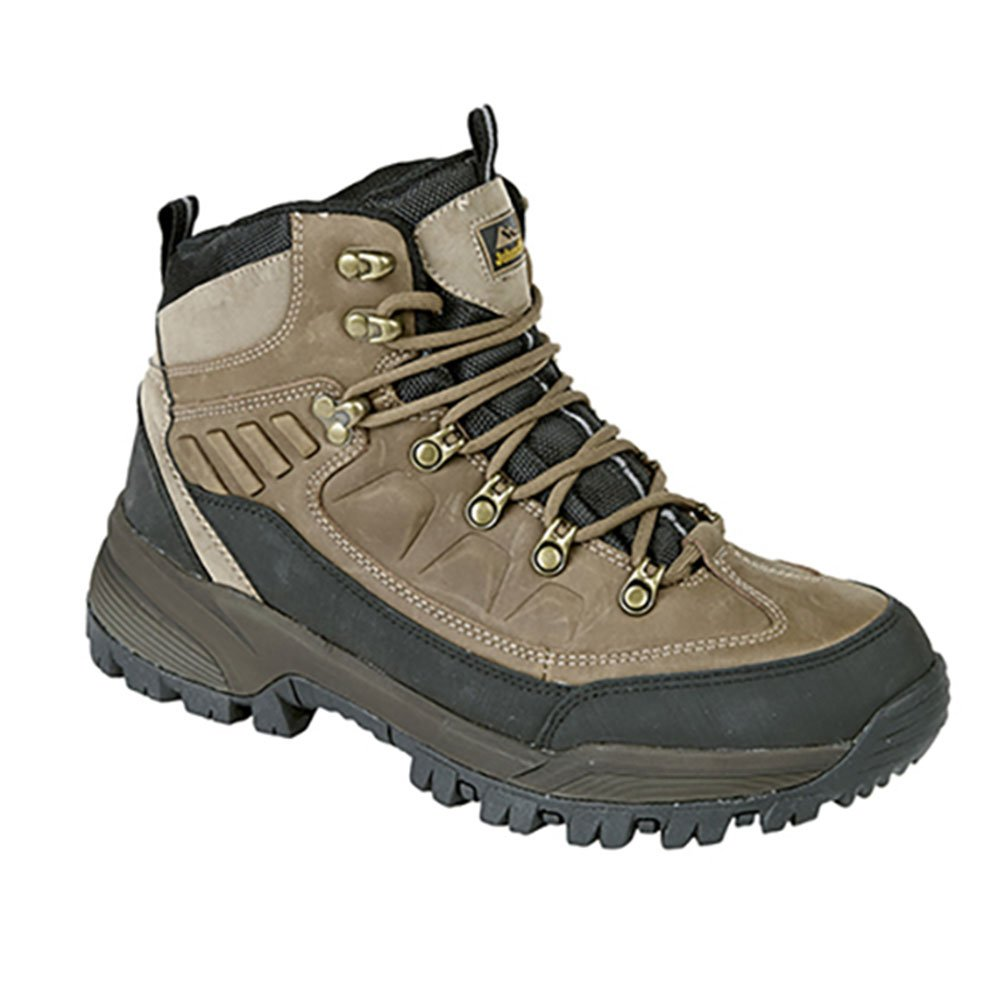 d5a65f21a81 Johnscliffe HIMALAYA Unisex Brown Crazy Horse Leather Hiking ...