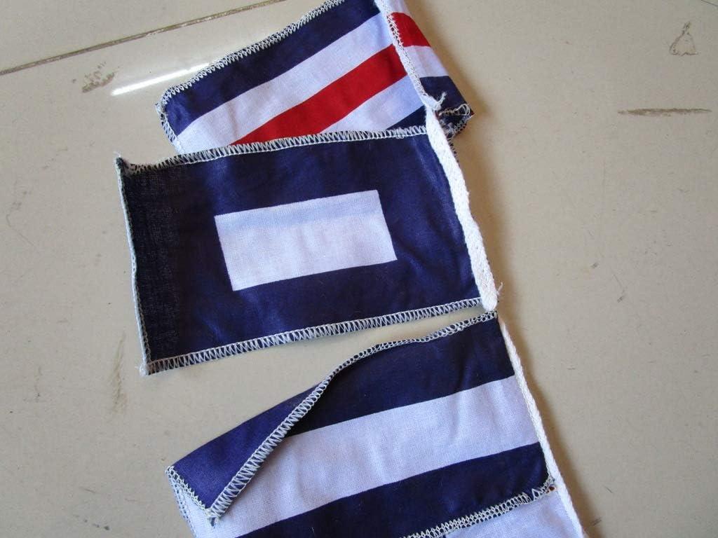 26 Flags Bunting 8 Feet Nautical//Boat//Beach Party 5234 Maritime Signal Code Flag 100/% Cotton