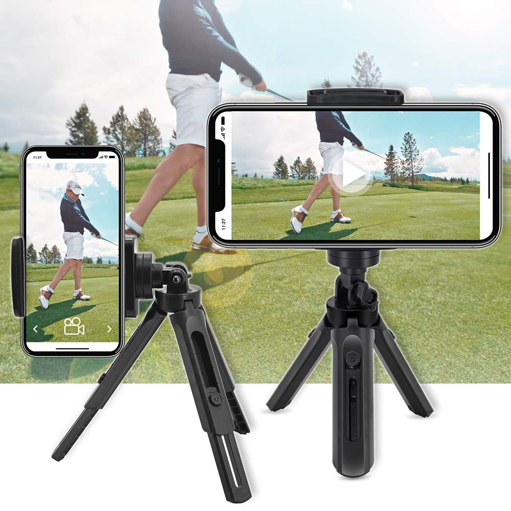 Golf Phone Holder Clip Golf Swing Recording Training Aids,Record Golf Swing/Short Game/Putting,Golf Accessories,Universal Smartphone Holder for The Golf Trolley,car Holder,Mobile Phone Holder,Selfi by XLHVTERLI