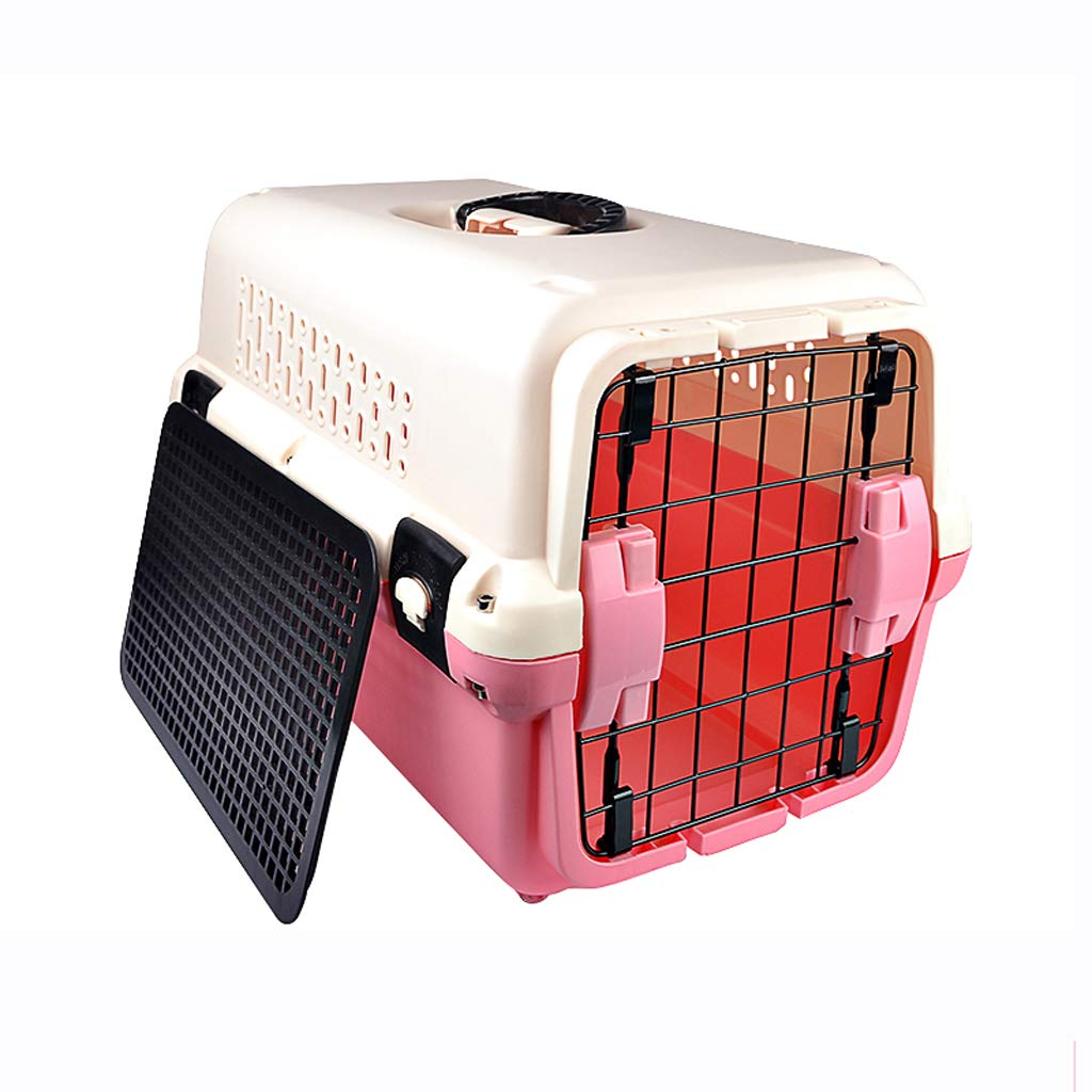 Ordinary1 594040cm Ordinary1 594040cm Pet air box, dog checked box cat car out cage, portable travel, durable, breathable ventilation, easy to install, easy to clean